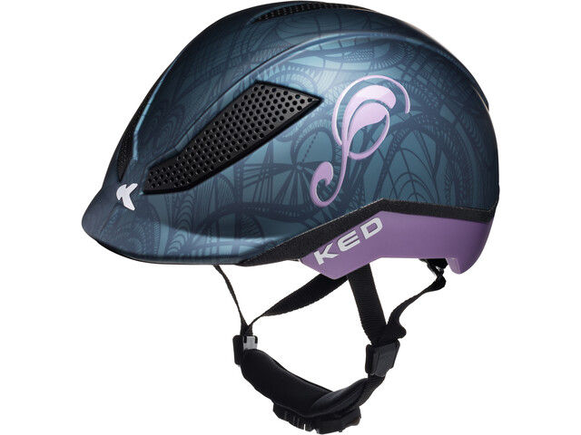KED Pina Helmet Kinder nightblue matt